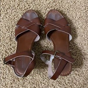 American Eagle Brown Wedges